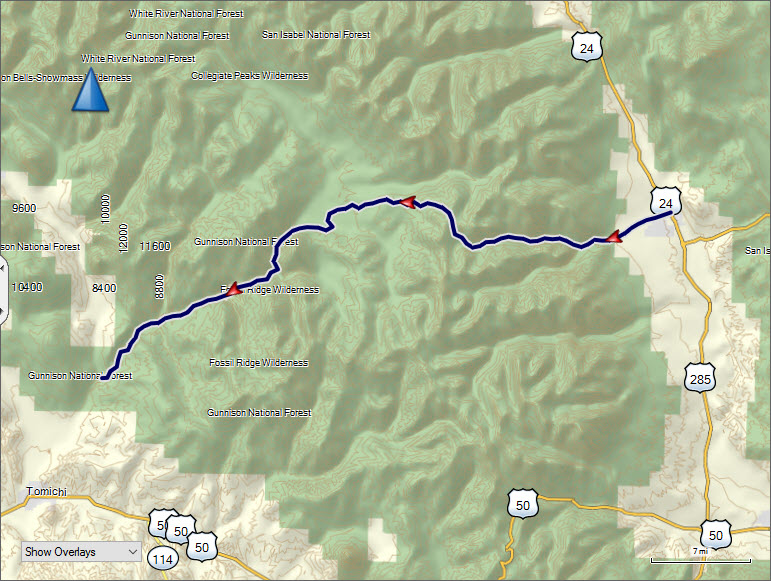 Cottonwood Pass Byway